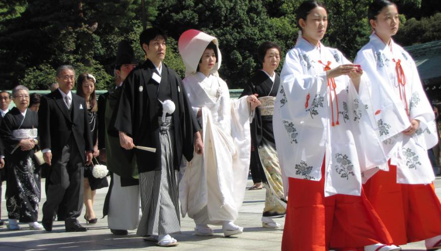 La tradition du mariage au Japon